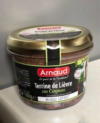 Terrine de Lièvre au Cognac - Produkt - fr