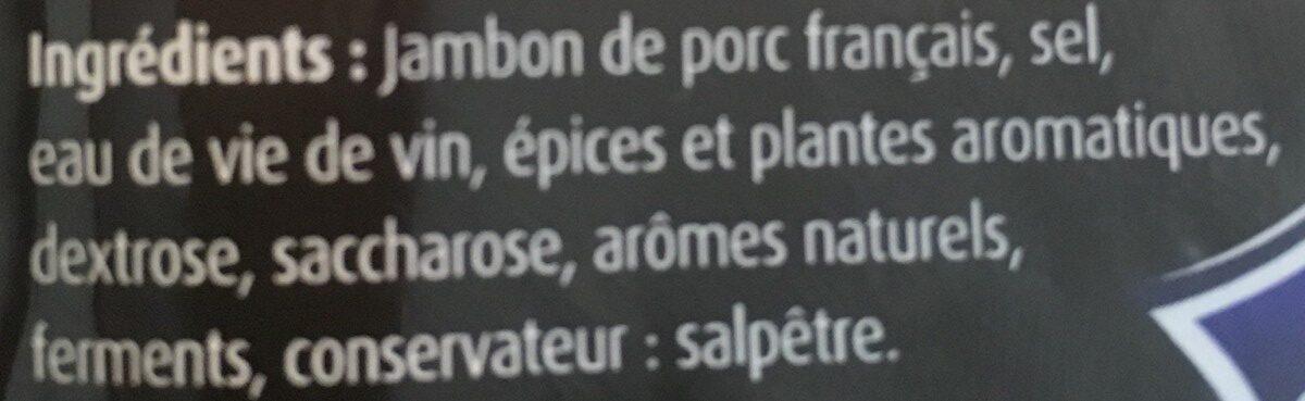 Jambon de Vendée - Ingredients - fr