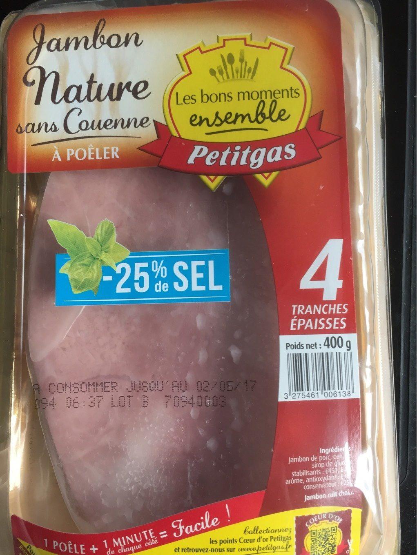 Jambon a poeler - Product - fr