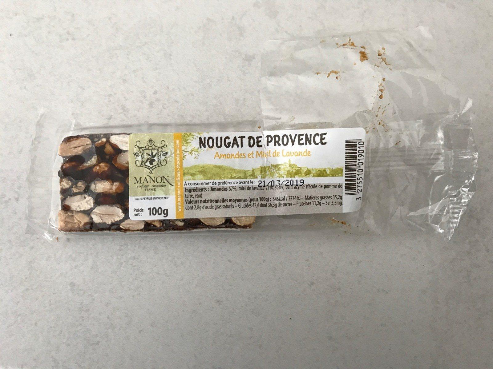 Nougat de provence - Produit