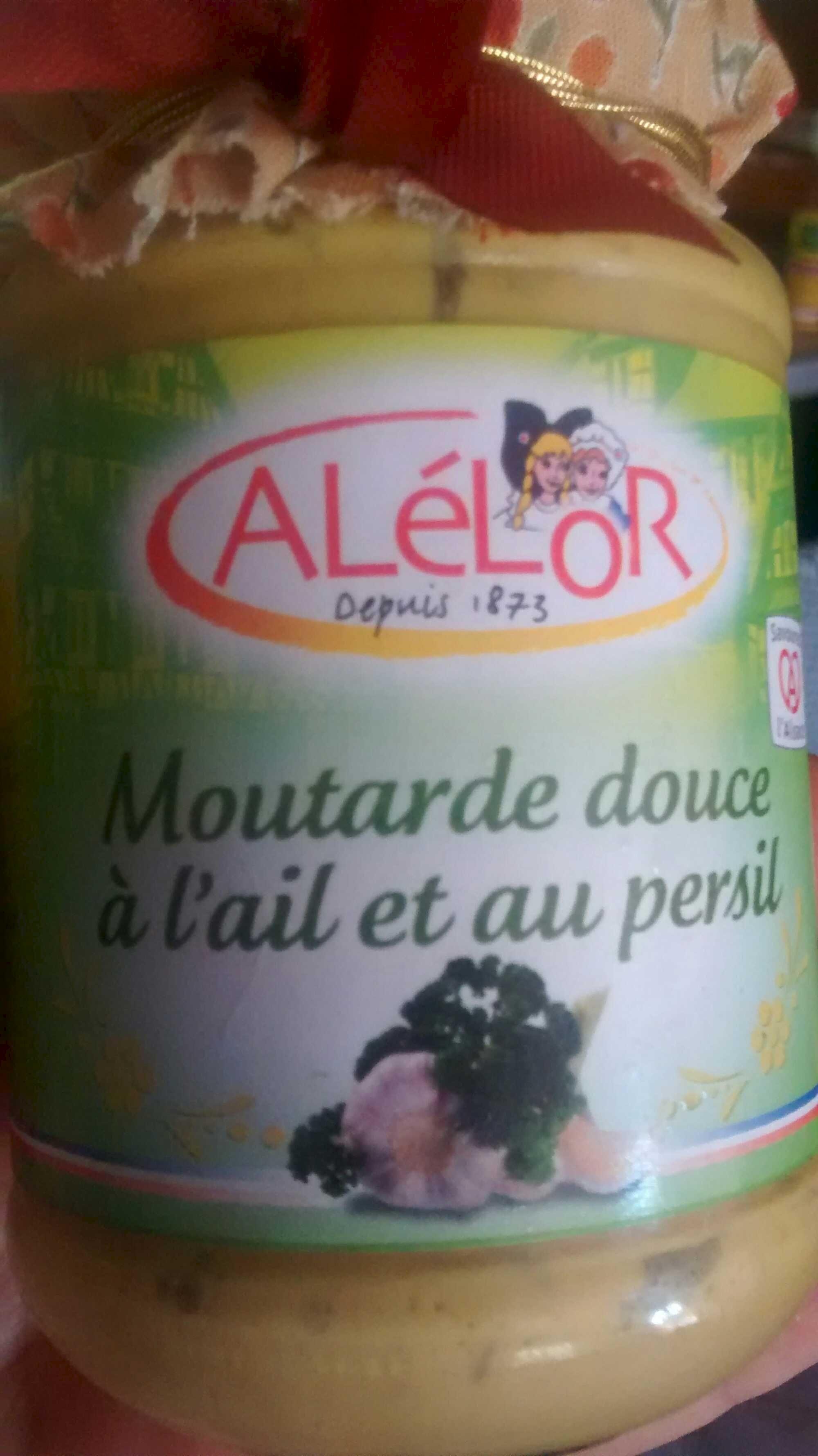 Moutarde Douce à l'Ail et au Persil - Produit