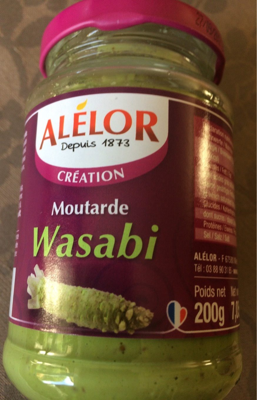 Moutarde Wasabi - Product