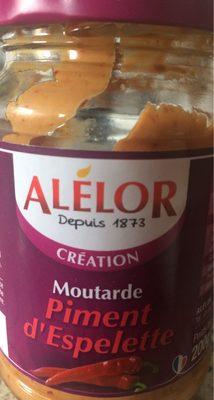 Moutarde piment d'espelette - Product