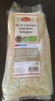 Riz de camargue long blanc biologique - Produit