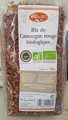 Riz Rouge Long Complet De Camargue 500g - Product