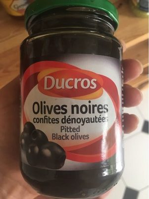 Ducros Pitted Black Olives - Product