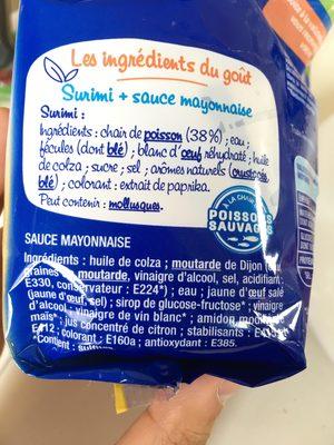 Petits Coraya avec 2 sauce mayonnaise - Ingredients