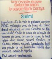 Petit Coraya avec 1 Sauce Mayonnaise - Ingrediënten - fr