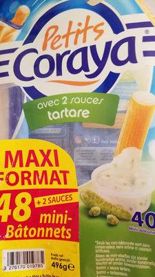 Mini bâtonnets de surimi Coraya Sauce tartare x48 - Prodotto - fr