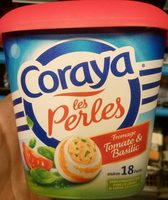 Coraya les perles fromage tomate & basilic - Product - fr