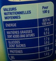 Coraya les perles fromage tomate & basilic - Nutrition facts - fr