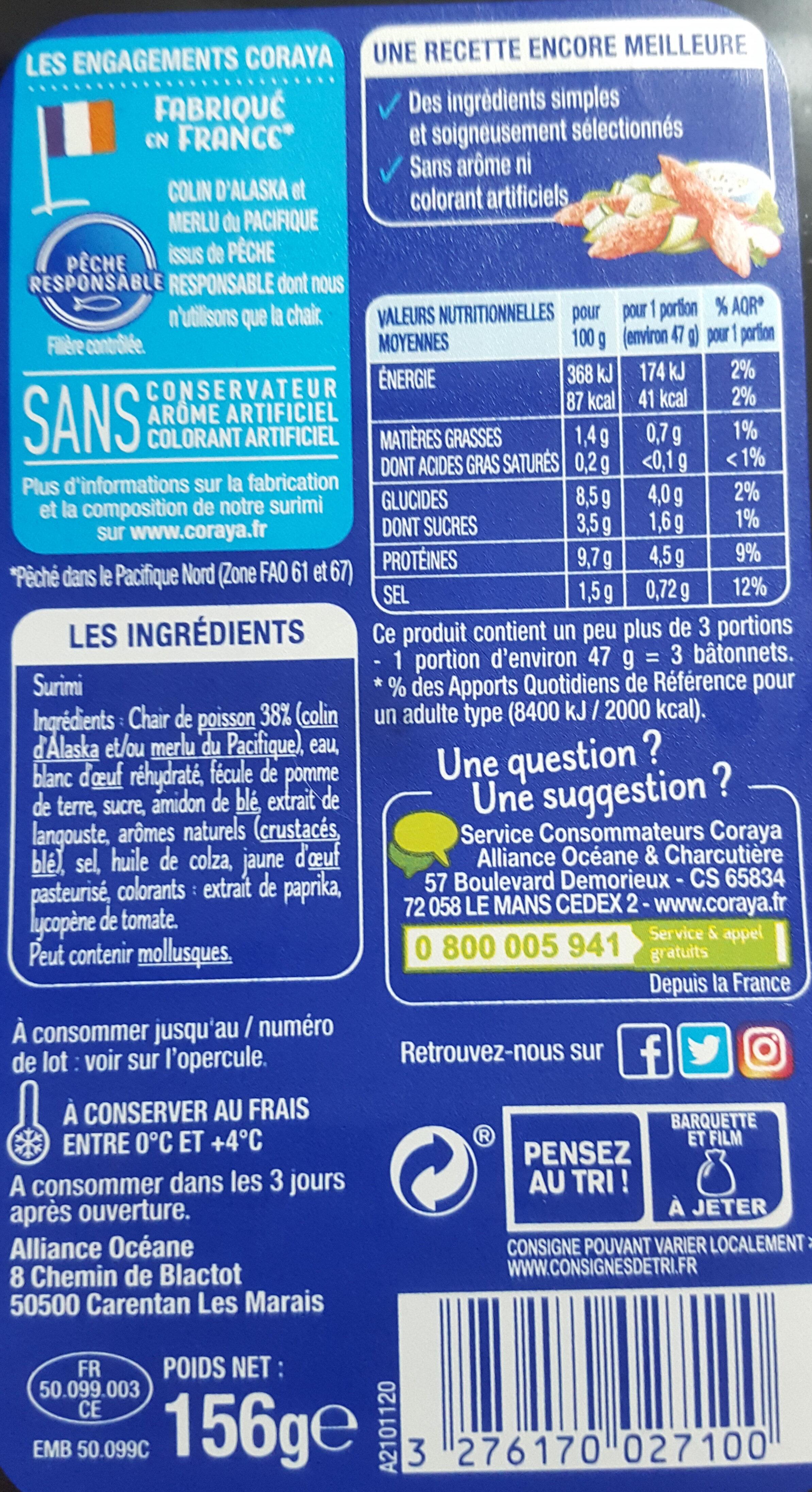 Suprêmes au goût Langouste - Produit - fr