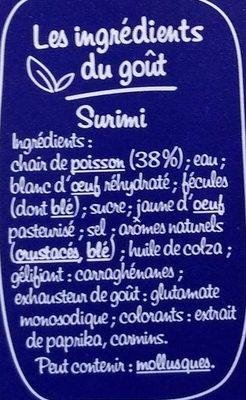Suprêmes au goût Langouste - Ingrédients - fr