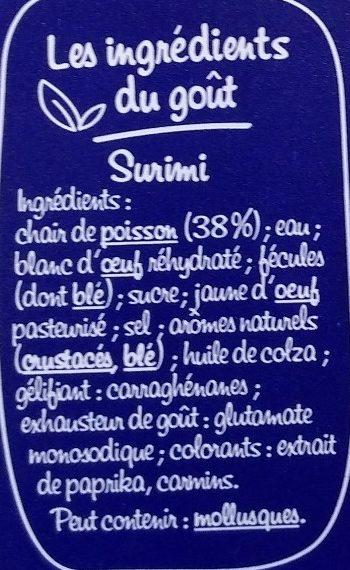 Suprêmes au goût frais de Langouste - Ingredients