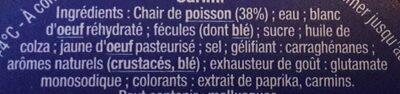 Suprêmes au Goût de Crabe - Ingrédients - fr