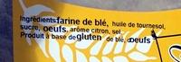 L'Oreillette du Languedoc - Ingrédients - fr