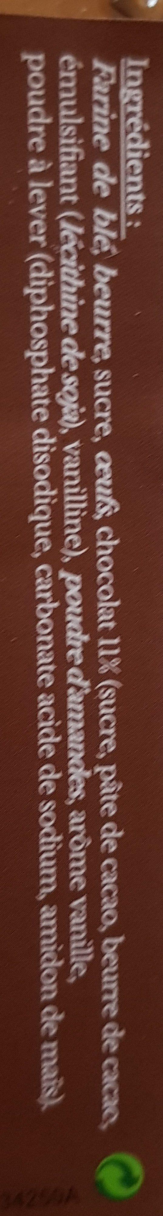 Le Croquant Chocolat - Ingrediënten - fr