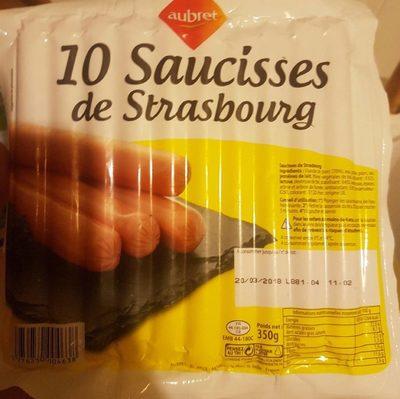 10 Saucisses de Strasbourg - Produit