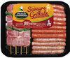Plateau panaché : brochettes de dinde + mix saucisses de dinde - Prodotto