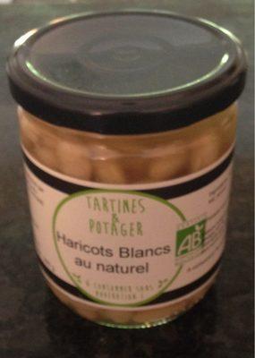 Haricots Blanc au naturel - Produit - fr