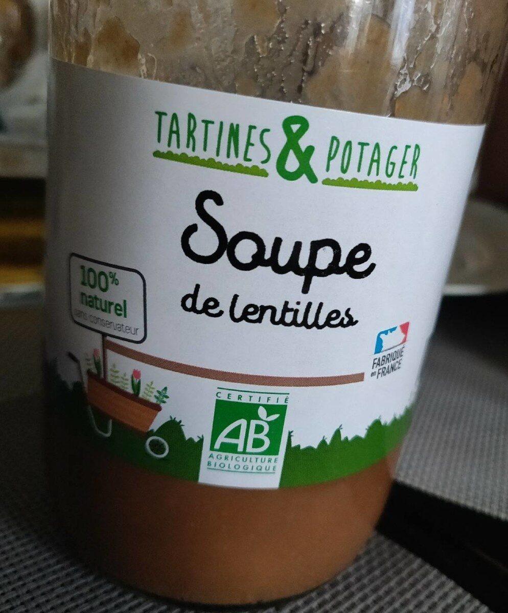 Soupe de lentilles - Product