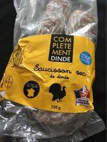 Saucisson sec de dinde - Produit - fr