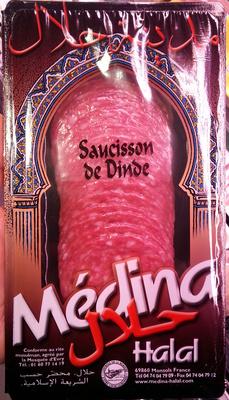 Saucisson de Dinde, Halal - Produkt - fr