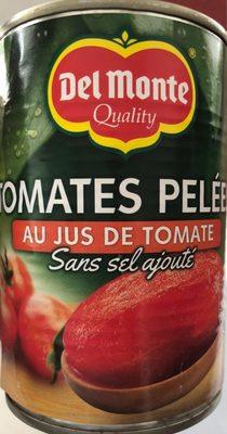 Tomates pelées au jus de tomates sans sel ajouté - Produit