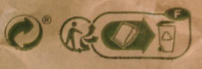 Baguette bio - Istruzioni per il riciclaggio e/o informazioni sull'imballaggio - fr
