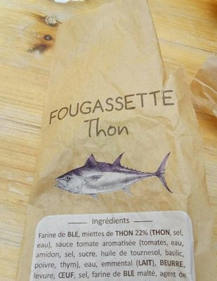 Fougassette Thon - Produit
