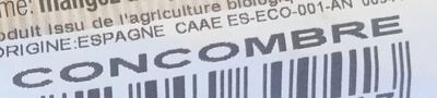 Concombre - Ingredients