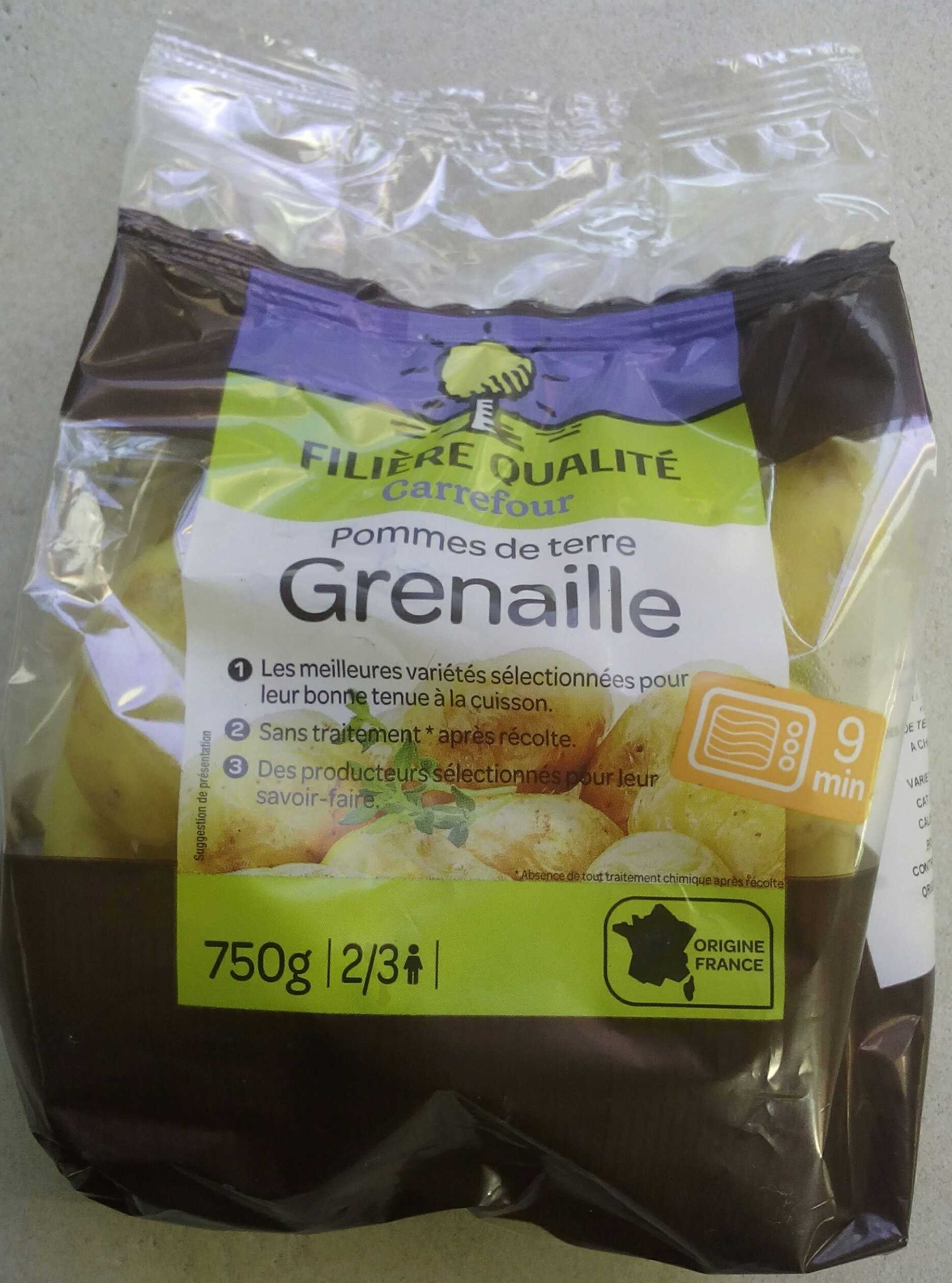 Pomme de tere Grenaille - Product