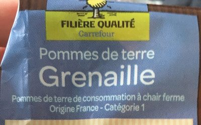Pomme de tere Grenaille - Ingrediënten