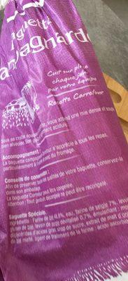 Baguette Campagnarde - Prodotto - fr
