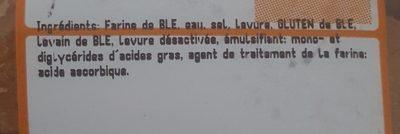 Mini baguette x10 - Ingredienti - fr
