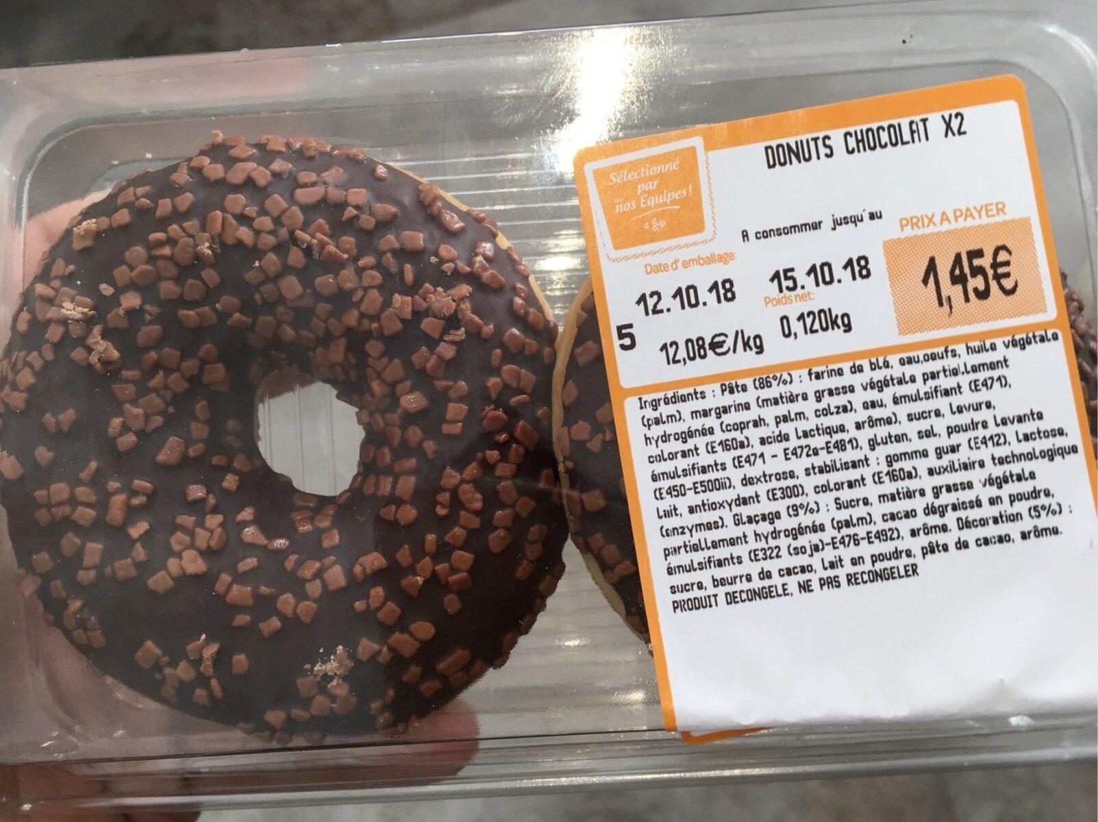 Donuts chocolat - Ürün - fr