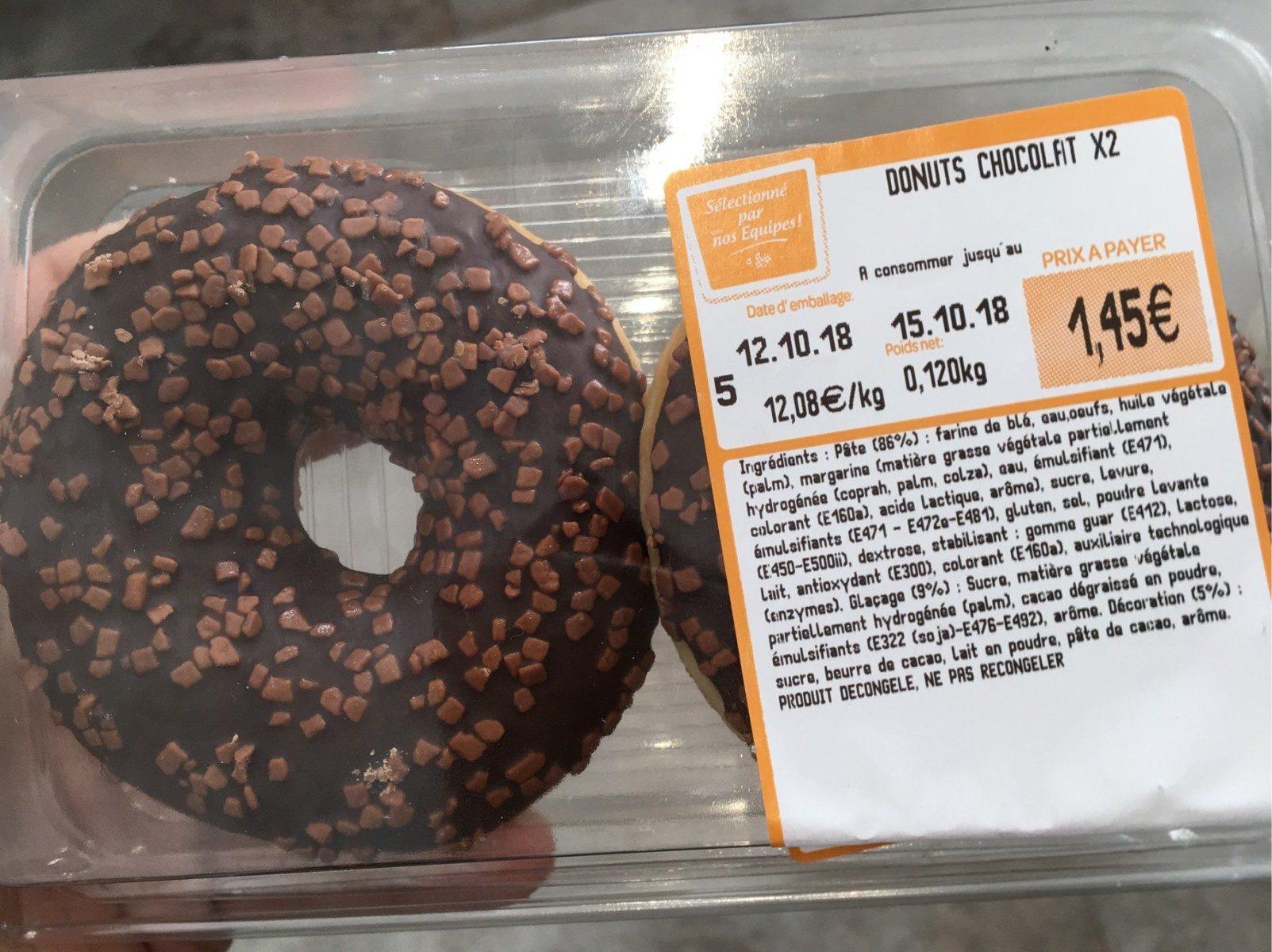 Donuts chocolat - Produit