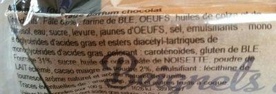 Beignets fourres chocolat - Ingrédients - fr
