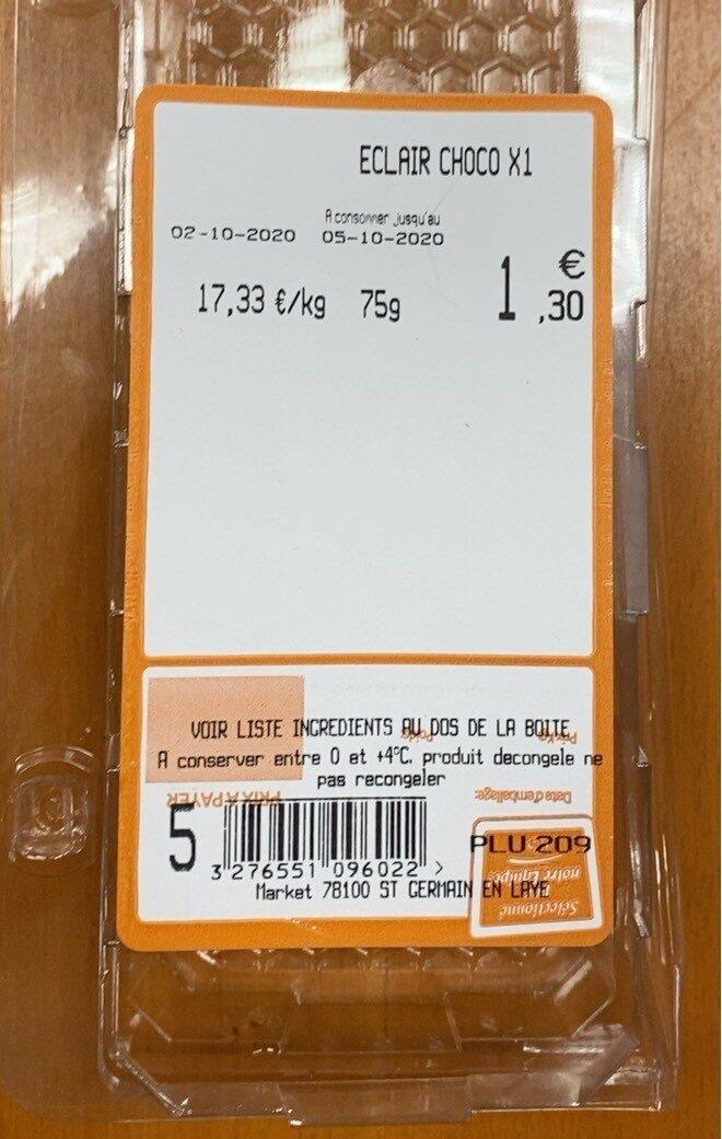Éclair au chocolat - Produit - fr