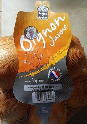 Oignon jaune - Informations nutritionnelles - fr