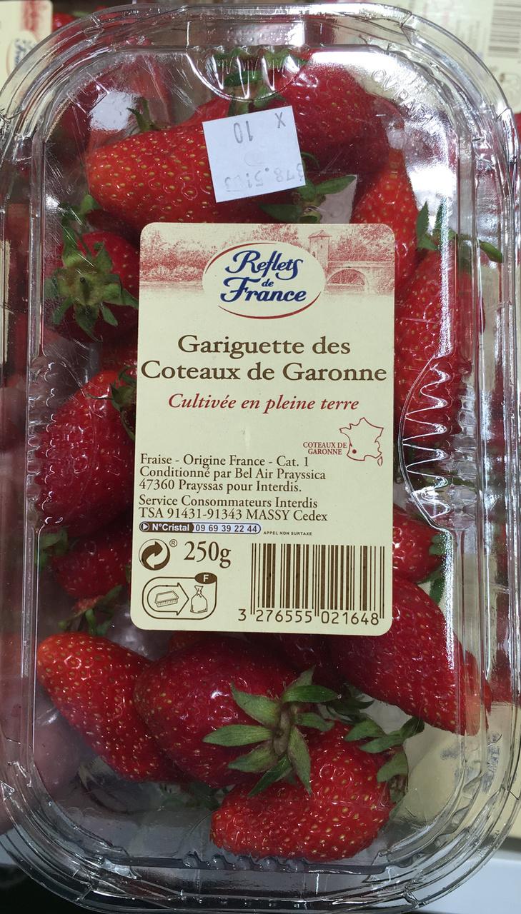 Gariguette des Coteaux de Garonne - Product - fr