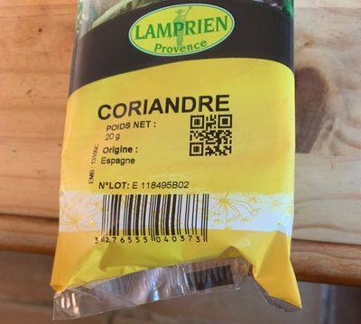 Herbes aromatique fraiche - Produit