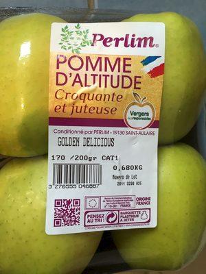 pommes d'altitude - Produit
