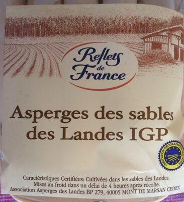 Asperges des sables des Landes IGP - Ingrédients