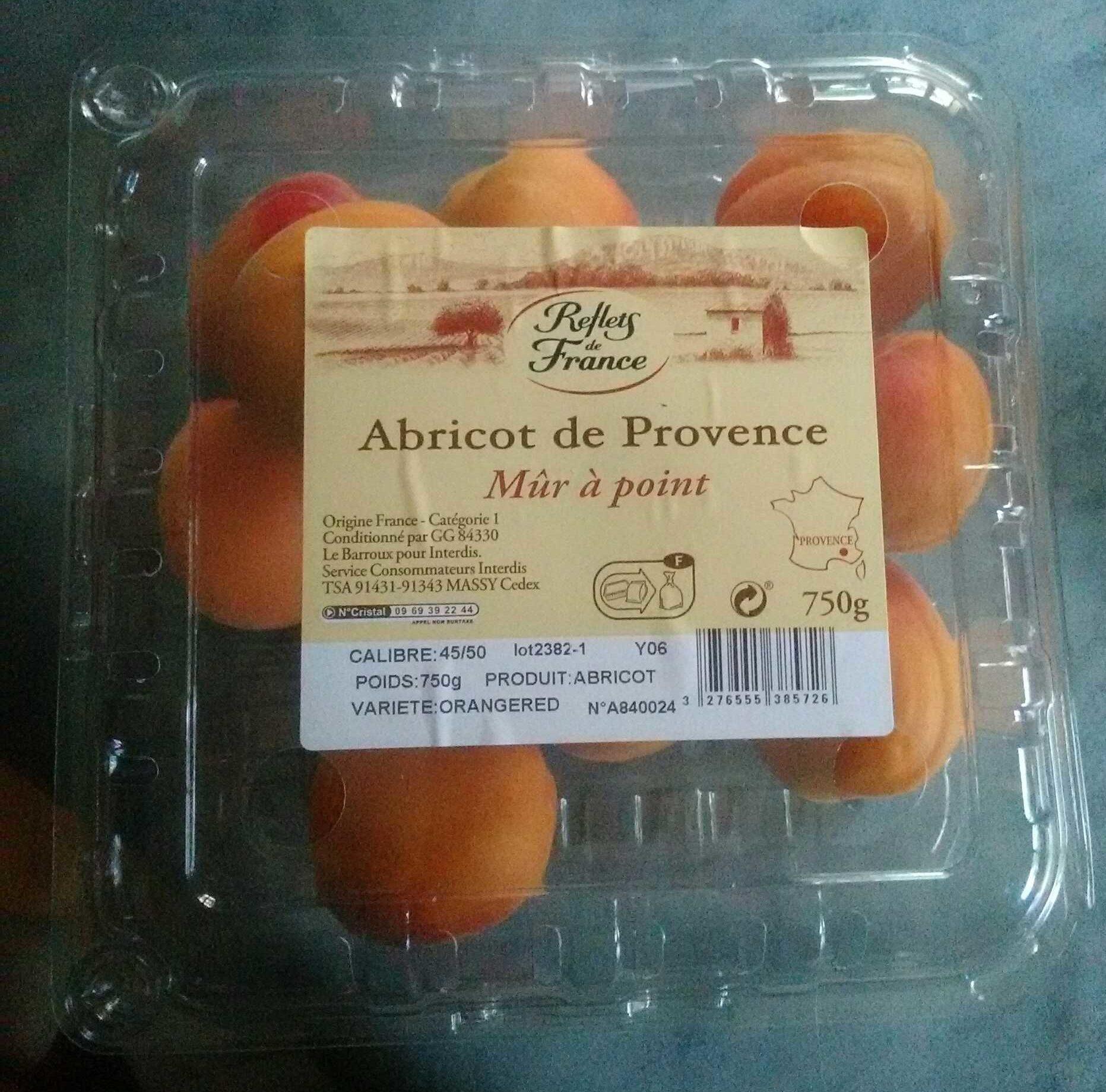 Abricots De Provence (mûrs à Point) - Product