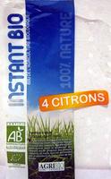 4 Citrons bio AgriBio - Product - fr