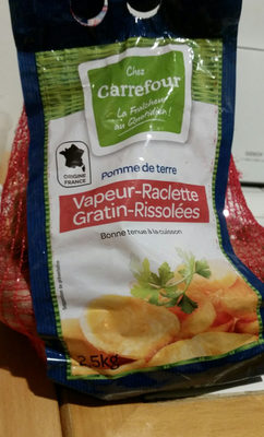 Pommes de terre rouges vapeur gratin rissolees - Produit - fr