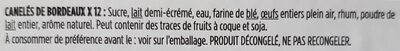 Cannelés - Ingrediënten