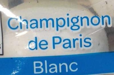 Champignon de Paris blanc - Ingredients