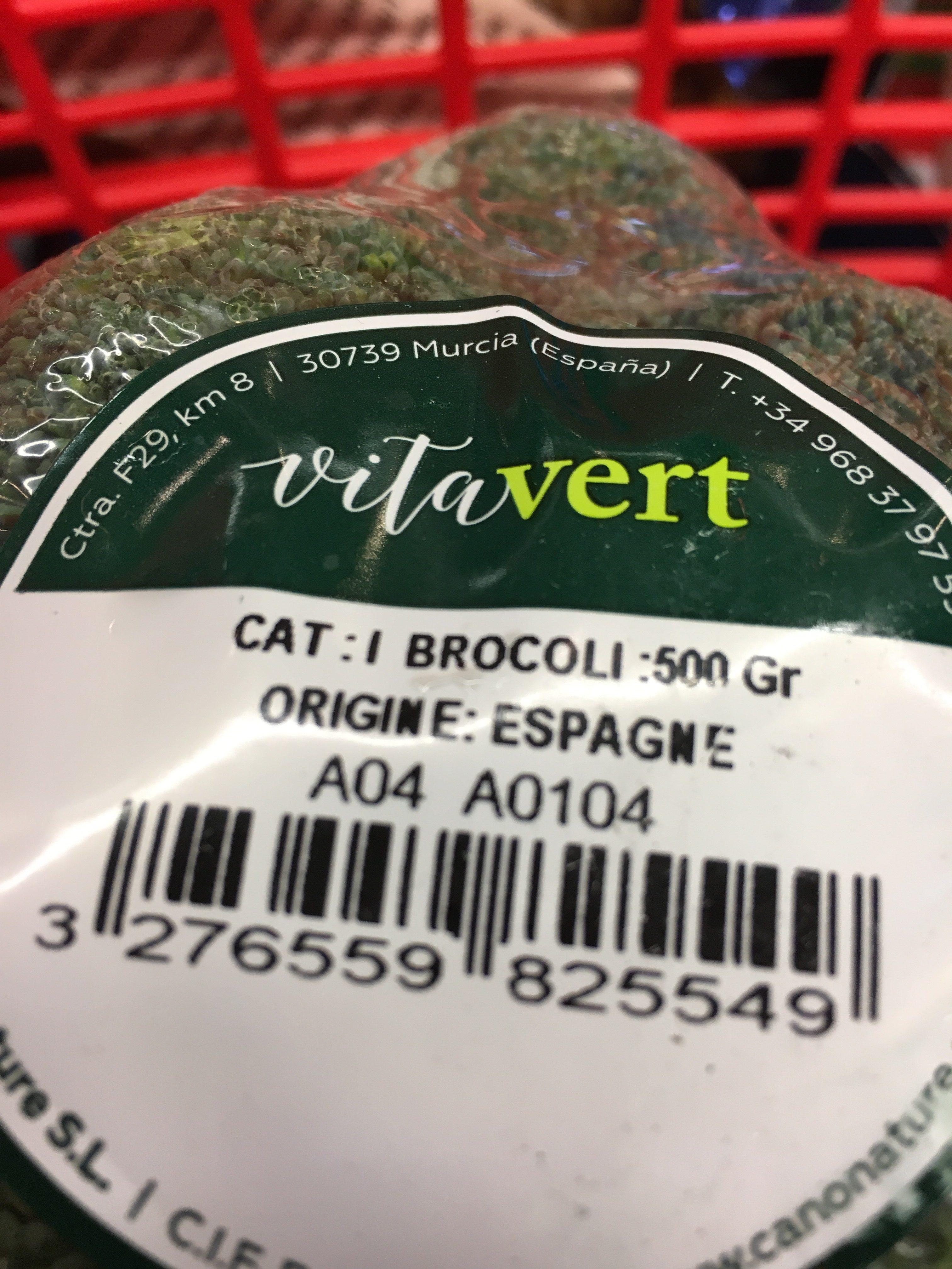 Brocolis - Ingrédients